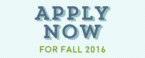 Apply for Fall 2016 Classes