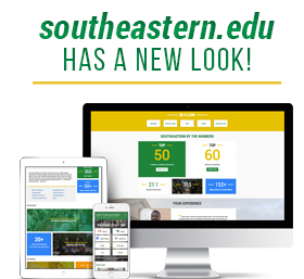 Southeastern's Website has a new look!