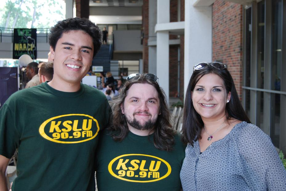 KSLU at the 2013 Part-Time Job Fair