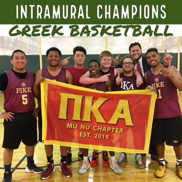 Greek Basketball Champions Spring 2017