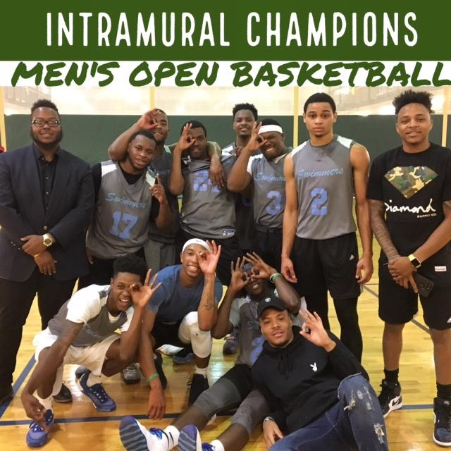 Men's Open Basketball Champions Spring 2017