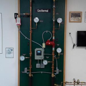 Geothermal System Process Display Board