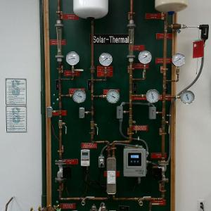 Solar Thermal System Process Display Board