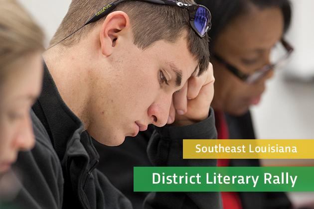 District Literary Rally
