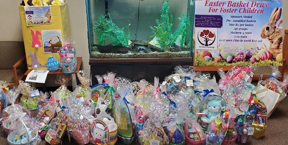 Easter Baskets For Foster Children