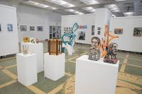 2020 installation view of Juried Student Exhibition