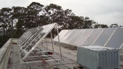 New Biology Solar Thermal Panel Array