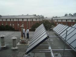 Kinesiology Solar Thermal Array