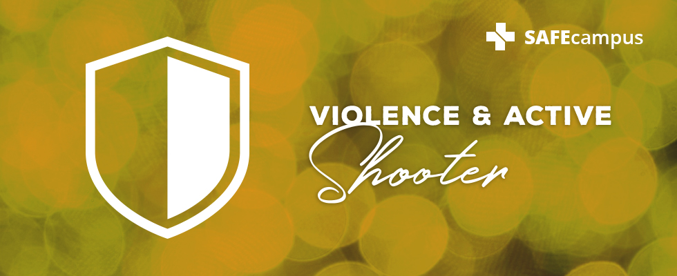 Violence and Active Shooter header