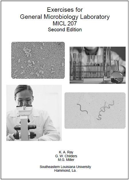 Microbiology 207 Laboratory Workbook