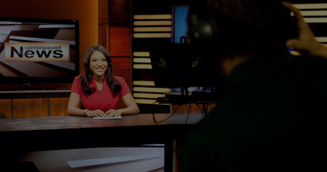 Student Anchor on Northshore News