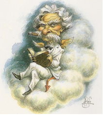 Mark Twain illustration is by Peter de Séve