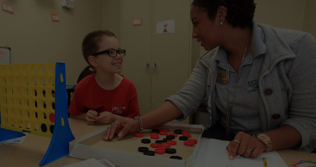 Communication Disorders Student and Child