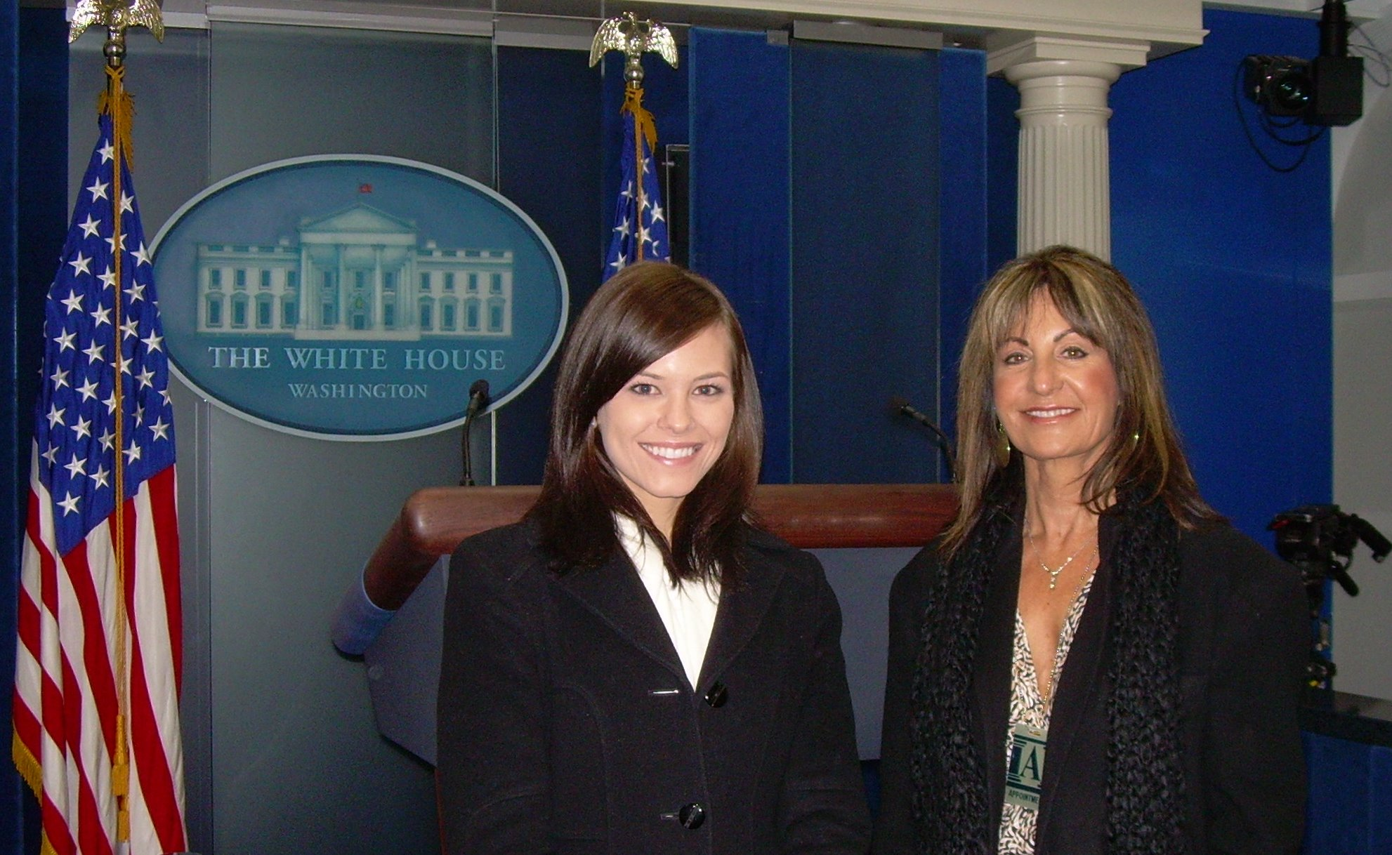 Chelsea Clouatre and Dr. Synovitz in DC