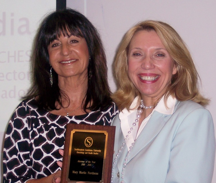 Dr. Linda Synovitz and Mary Martin Nordness