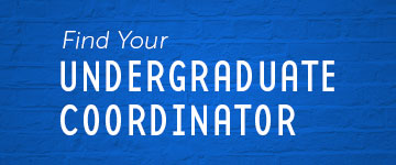 Find Your Undergraduate Coordinator