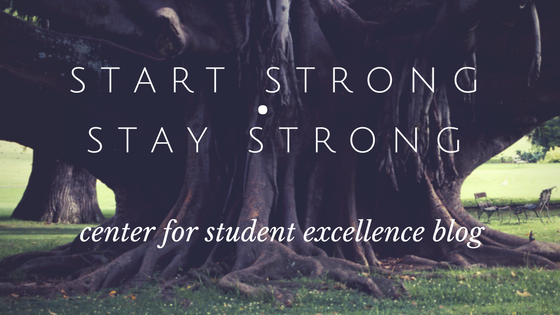 Start Strong Stay Strong Blog