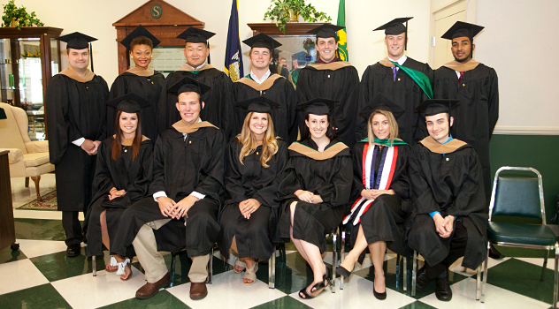 Graduating MBA Students