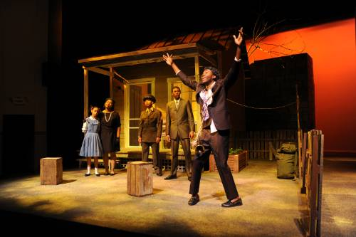 Scene from August Wilson's Fences