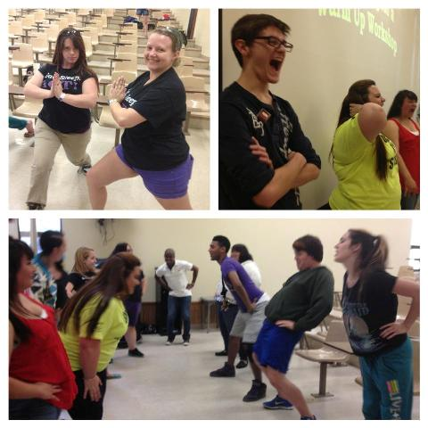 APO members having fun at artistic workshops