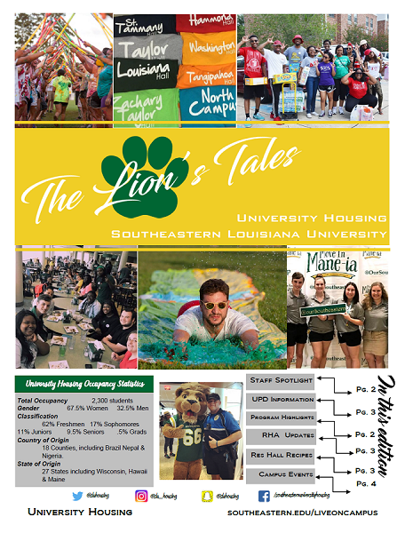 Front page of Lion's Tales