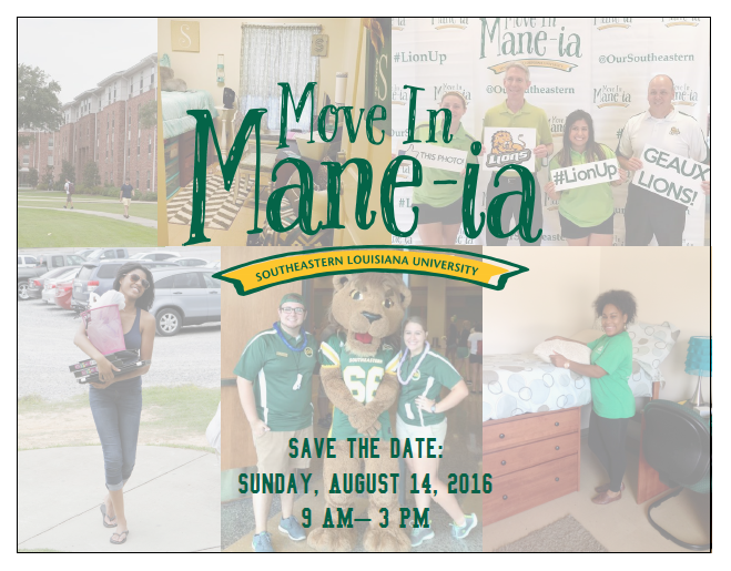 Move In Mane-ia Save the Date