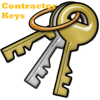 contractor key button