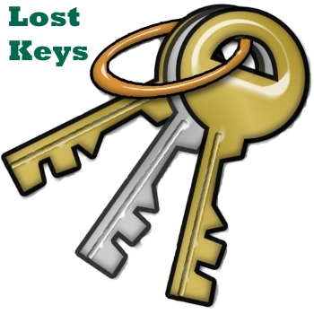 lost key button