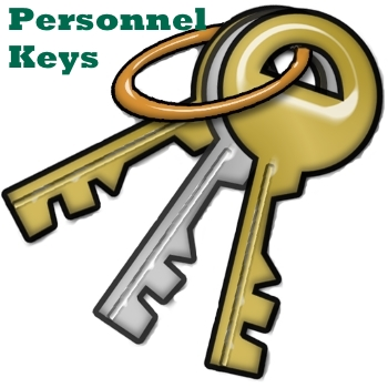 Personnel Key Button