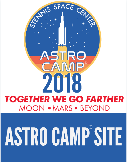 We are an Official Astro Camp Site!
