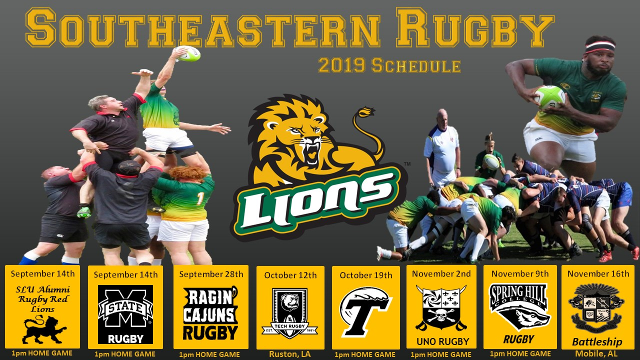 men's rugby fall 2019 schedule