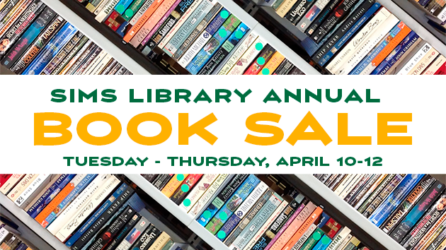 Sims Library book sale