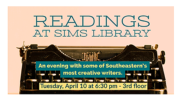 Readings at Sims Library