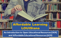 Library Hosts Affordable Learning Louisiana