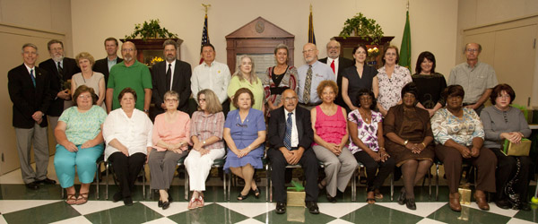 2012 retirees honored