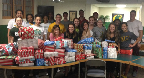 SAAC gives toys for drive