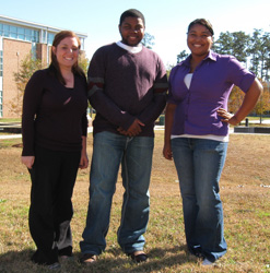 Graduate students present research at conference