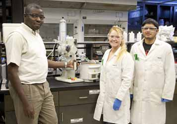 Southeastern Chemist receives grant from Bercen