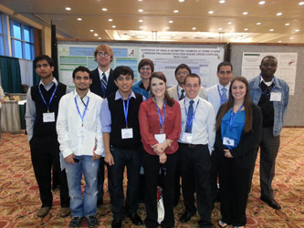 Students attend chemical conference
