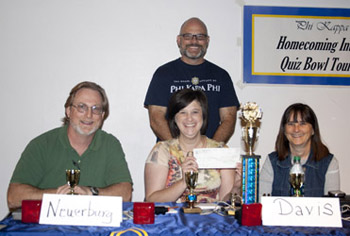 Quiz Bowl faculty