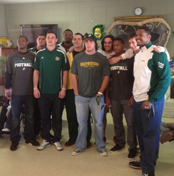 Southeastern football players