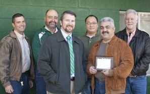 Southeastern receives environmental award