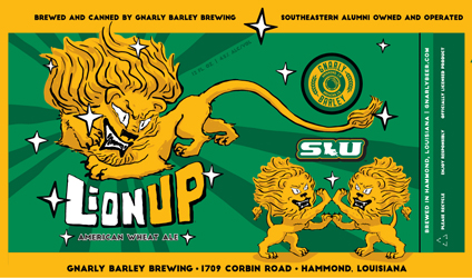 Lion Up label
