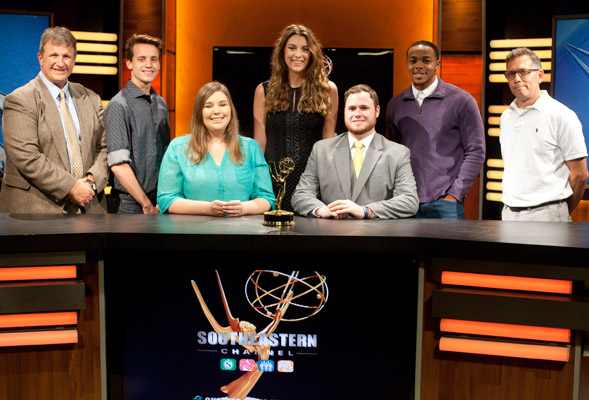 Students win Emmy Awards