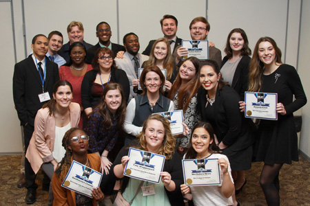 Students recognized at SEJC conference