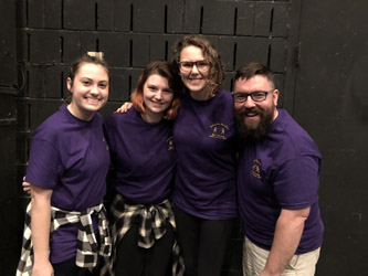 Students attend stage combat workshop