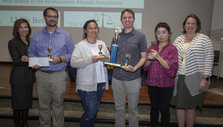 First place faculty winners