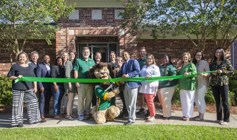 Lion Up Recovery ribbon cutting