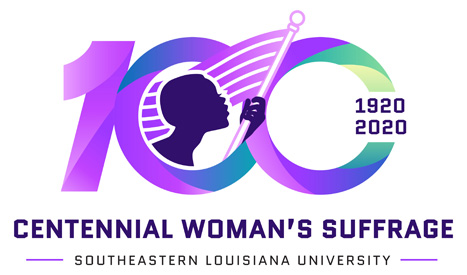Centennial Women's Suffrage logo