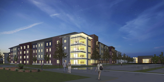New Student Housing Rendering
